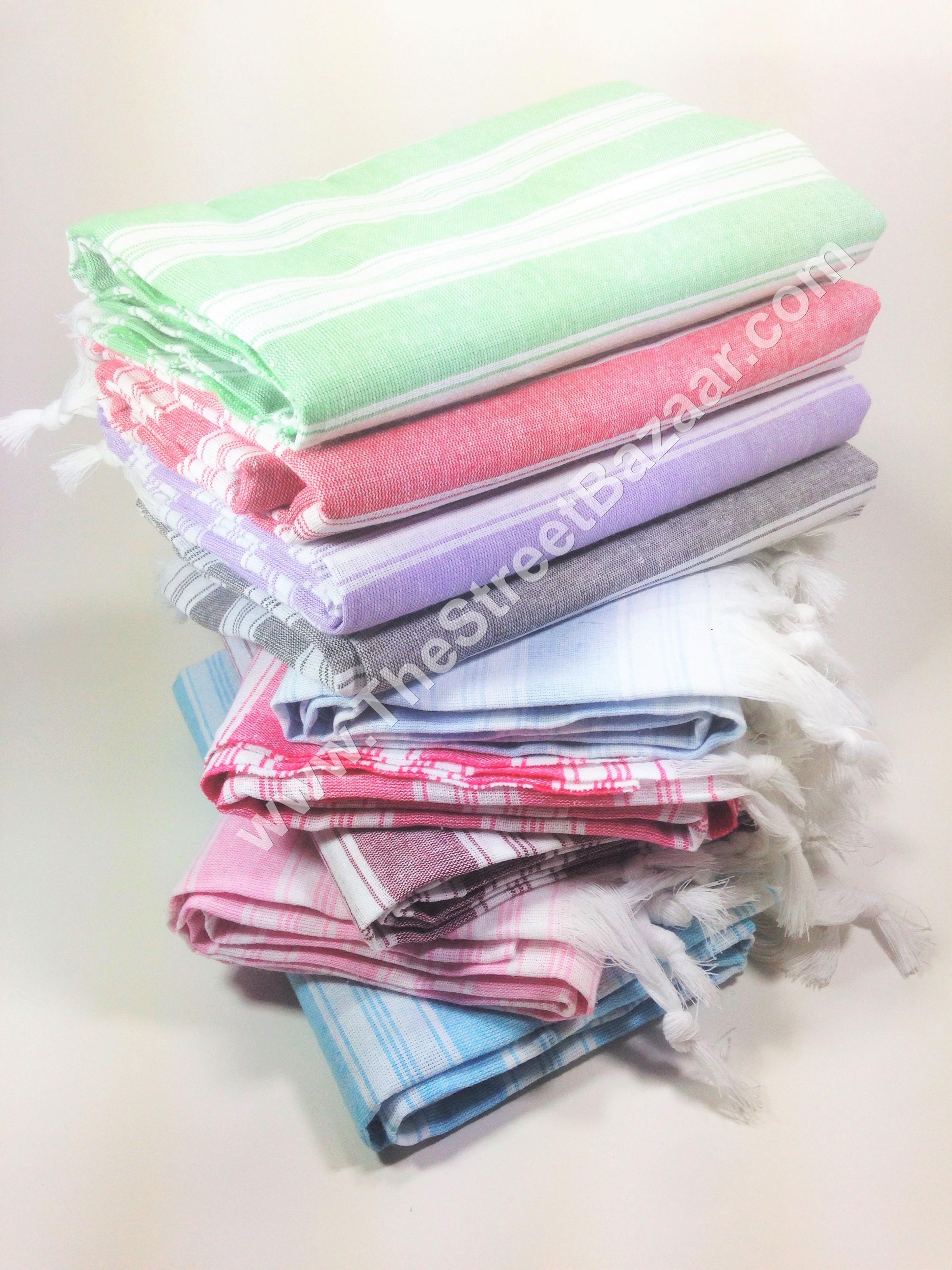 Turkish Hammam Peshtemal 80 Cotton Bath Thinnest Towel