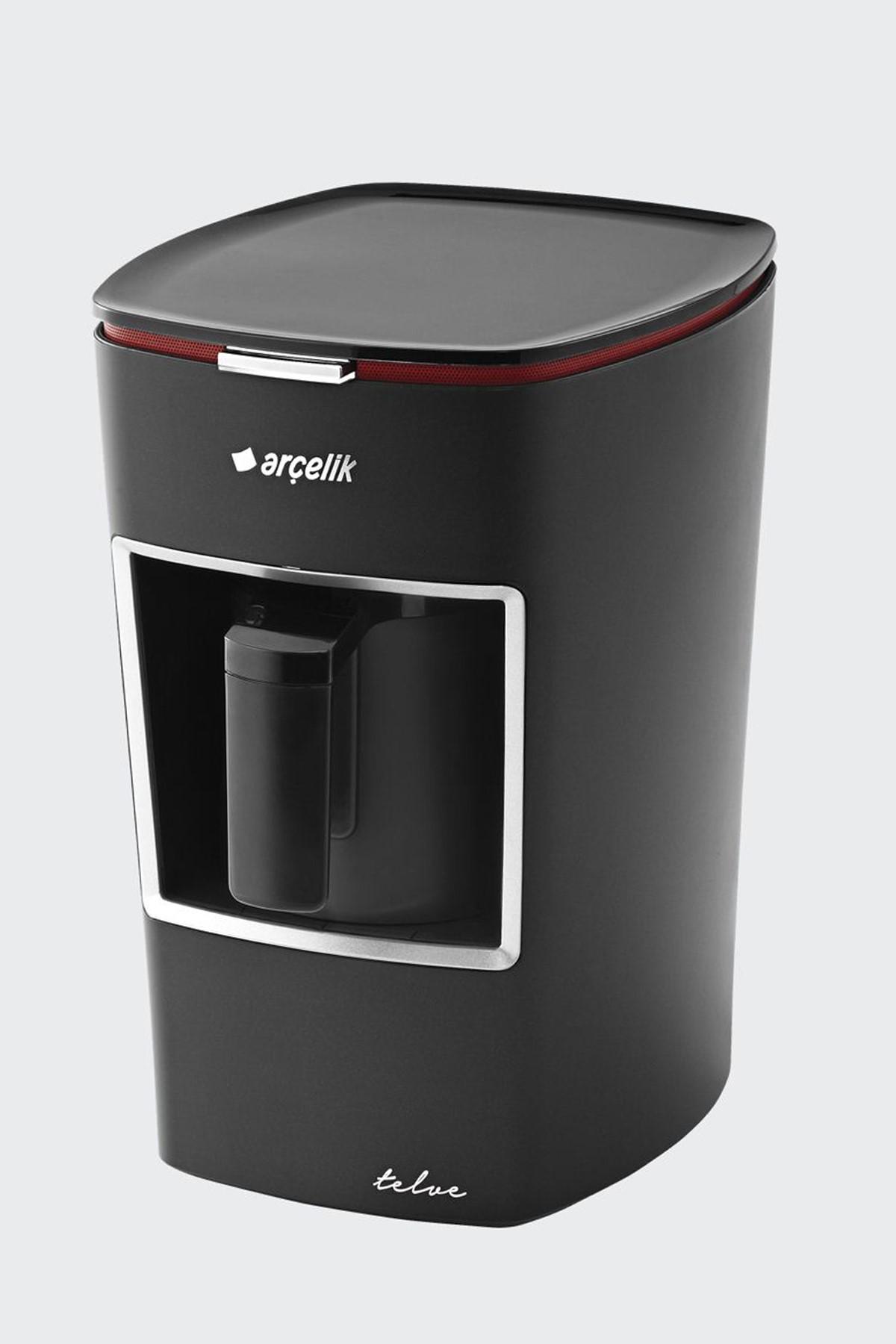 Arcelik Telve Automatic Greek Turkish Coffee Espresso Maker Machine K3300 Beko-red-black-white ...