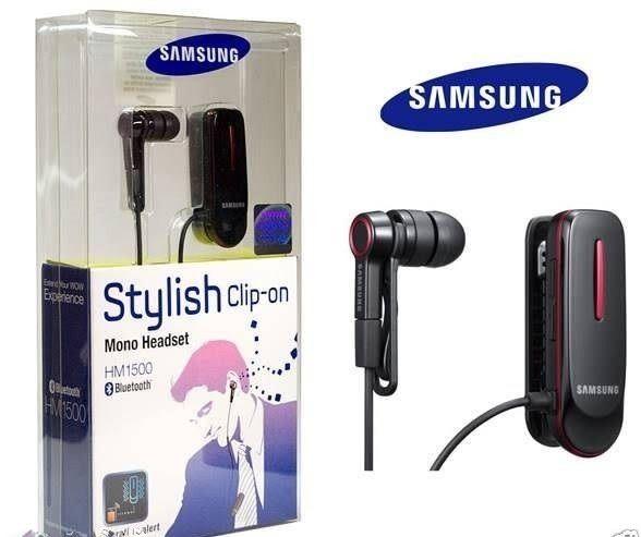 bd03ac4fee8 Samsung HM1500 BRAND NEW Black In-Ear EXPRESS SHIP GENUINe Bluetooth Headset